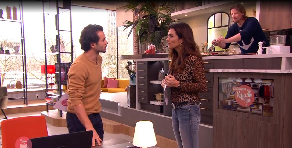 Mingus Dagelet vertelt over De Nederlandse Acteursschool bij Koffietijd!