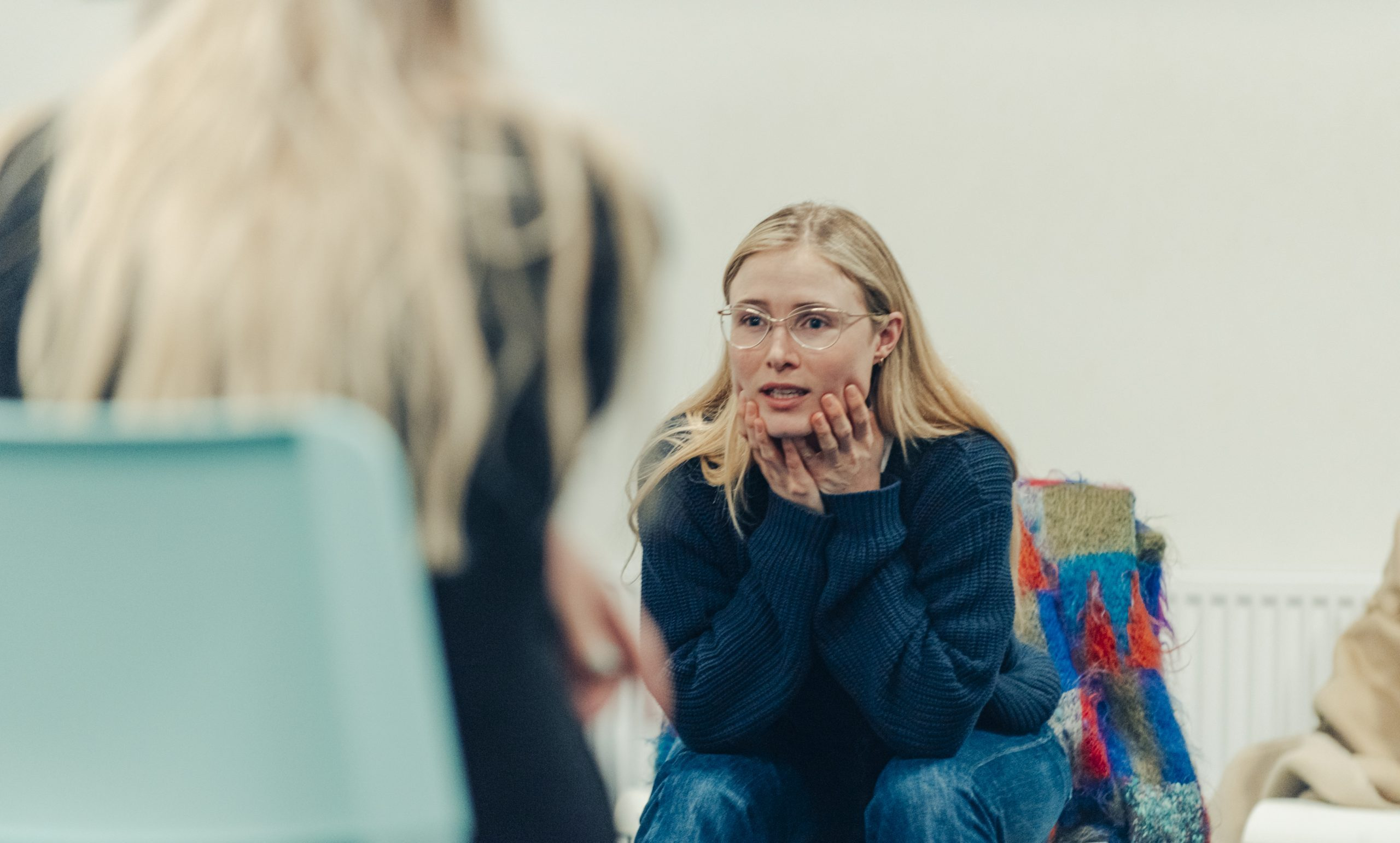 Huilen, angst, boosheid en blijdschap, van klein naar groot in de les van Sigrid ten Napel